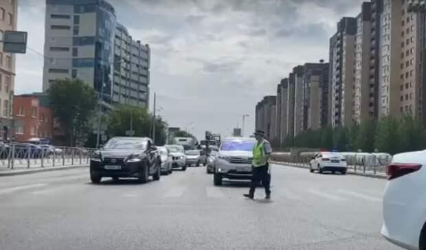 Движение на Харьковской в Тюмени полностью восстановлено