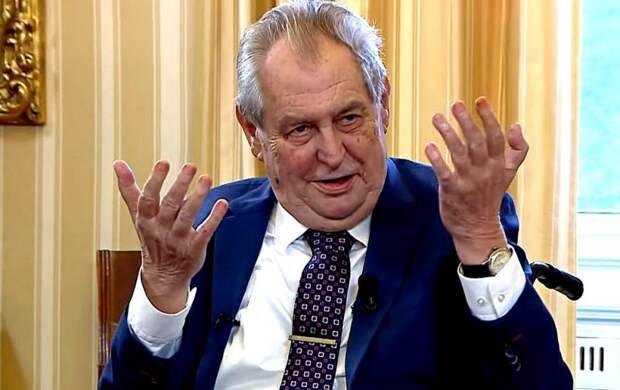 Заявление президента Чехии на тему взрывов во Врбетицах подтвердило версию о провокации США