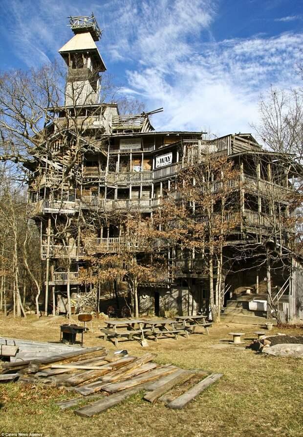 Трагическая история самого высокого деревянного дома в России