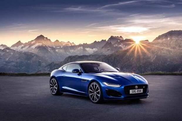 Jaguar представил обновленный F-Type