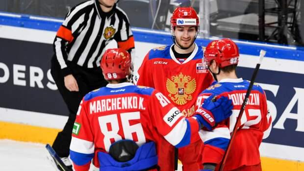 Объявлен расширенный состав сборной России на Чешские хоккейные игры