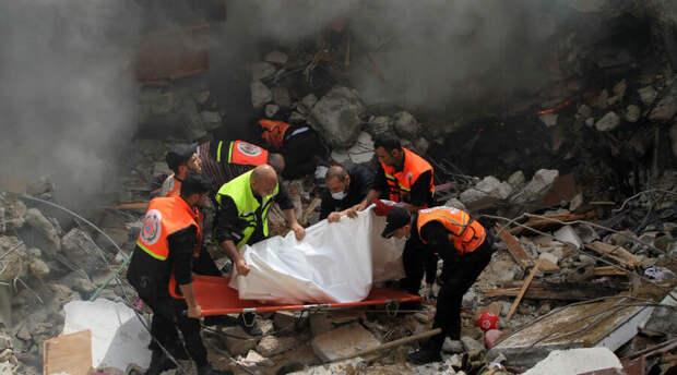 Израиль убил более 200 мирных жителей Палестины