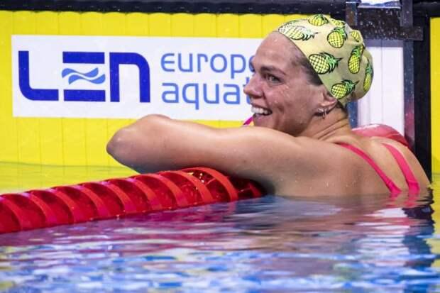 Ефимова завоевала бронзу чемпионата Европы на 50 метрах брассом