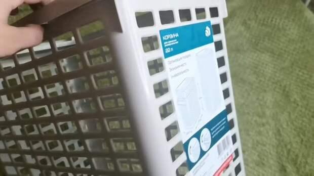 В руках мастерицы и дешёвая корзинка FixPrice станет шедевром