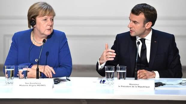 """""""Когда Путин молчит..."""": Михалков раскрыл """"неприличный"""" разговор Меркель и Макрона"""