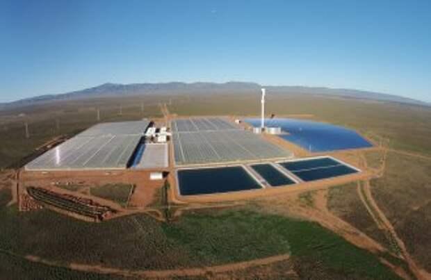 Как устроена ферма, работающая на солнечной энергии и морской воде