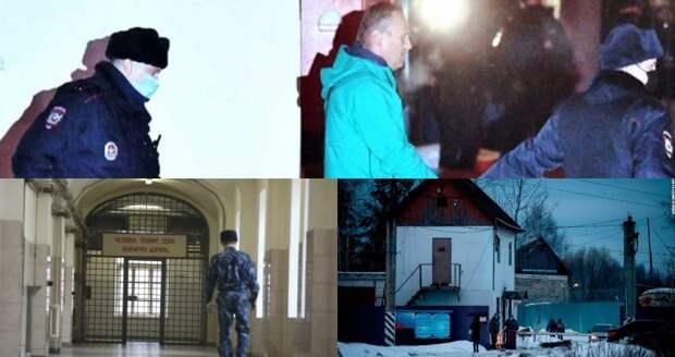 """""""Опер пишет"""": Намечается штурм колонии Навального"""