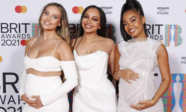Две из трех солисток Little Mix беременны: первые фото с красной дорожки BRIT Awards