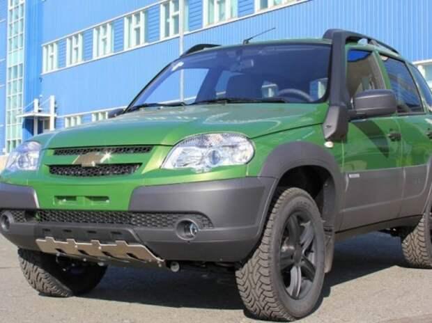 Цена на новую Chevrolet Niva перевалила за 0,5 млн рублей
