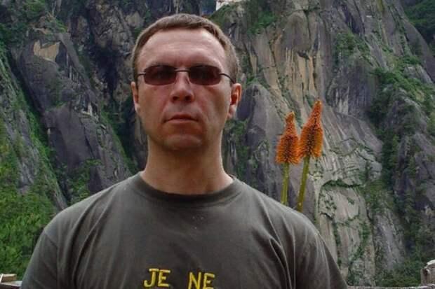 Российский писатель Виктор Пелевин