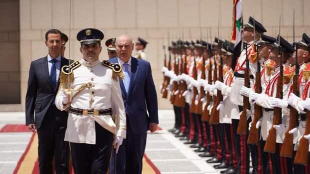 Президент Сирии Башар Асад встретился с лидером Абхазии