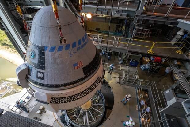 В NASA обозначили сроки испытаний корабля Boeing Starliner