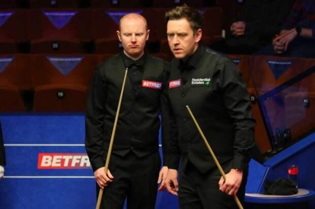 Энтони МакГилл и Рики Уолден (фото: World Snooker)