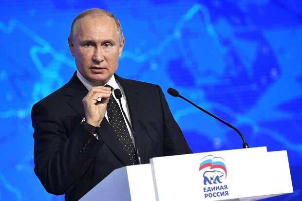 СМИ: Путину предложат возглавить список кандидатов «Единой России» в Госдуму