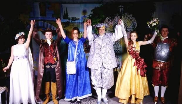 Премьера спектакля «Сганарель, или Мнимый рогоносец» пройдет в Подольске 20 октября