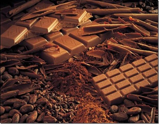 Шоколад, как образ сладкой жизни