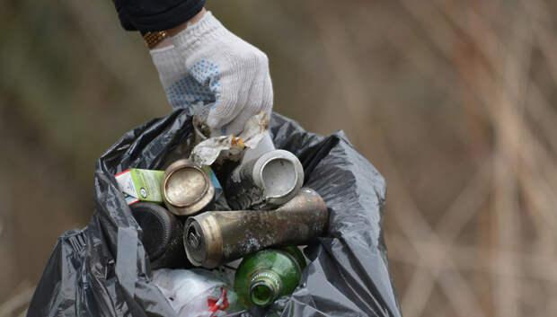 Активисты уберут мусор с берега реки Пахры в Подольске 8 и 10 января