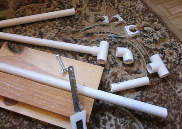 Станок для вышивки своими руками из пластиковых труб