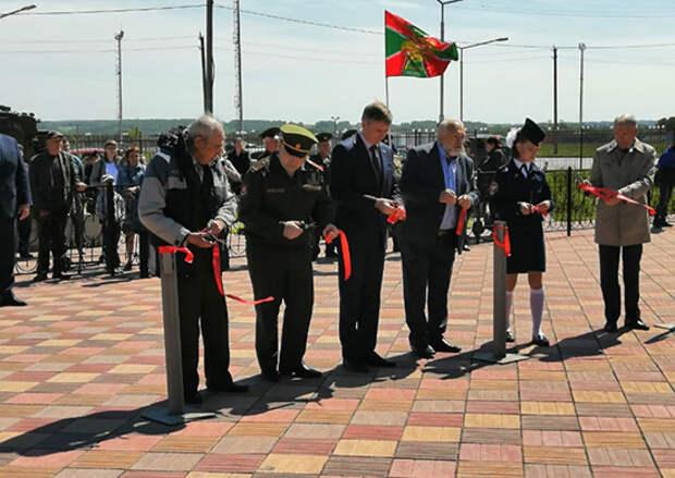 Аллею Боевой Славы открыли в Новосибирской области в День России