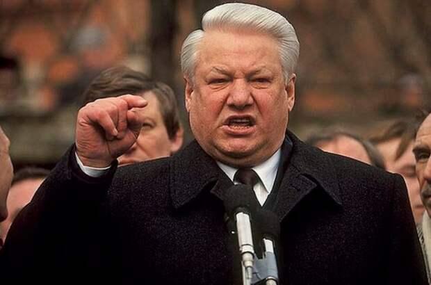 Новости НТВ и ОРТ об отставке Бориса Ельцина