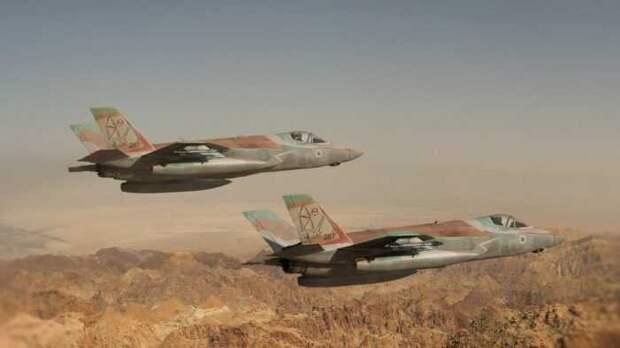 Российские С-400 обнаружили израильские F-35 готовившие удар по Сирии