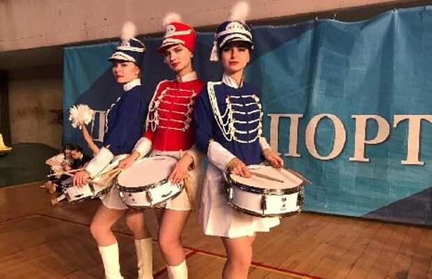Тамбовский мажорет-шоу барабанщиц стал победителем всемирной танцевальной оли...