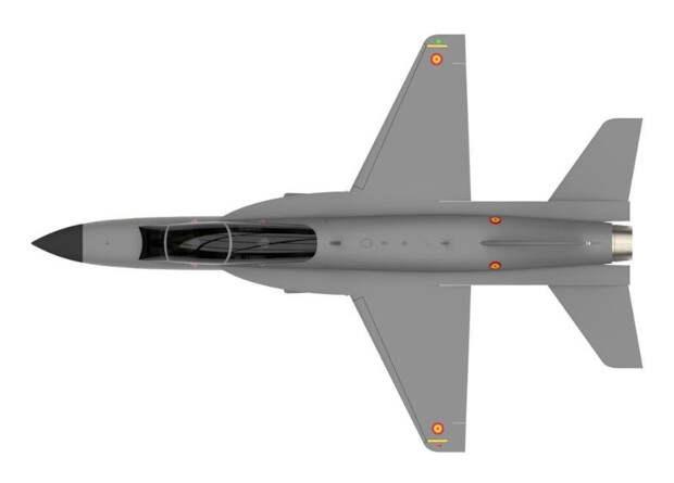 Испанцы занялись разработкой учебного самолета нового поколения
