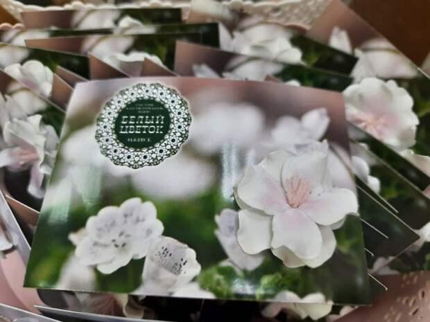 11,5 тыс белых цветов смастерили школьники Удмуртии для помощи детям с серьезными заболеваниями