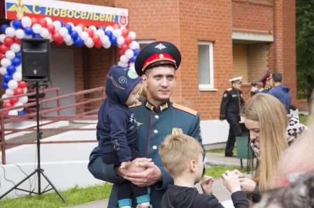 320 семей военнослужащих получили служебные квартиры в Сергиевом Посаде