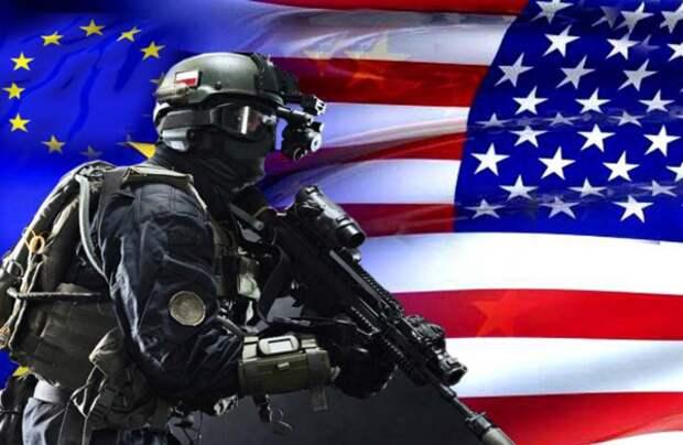 Солдат НАТО.