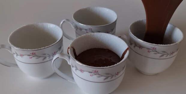Никакой выпечки! Простой рецепт приготовления шоколадного суфле