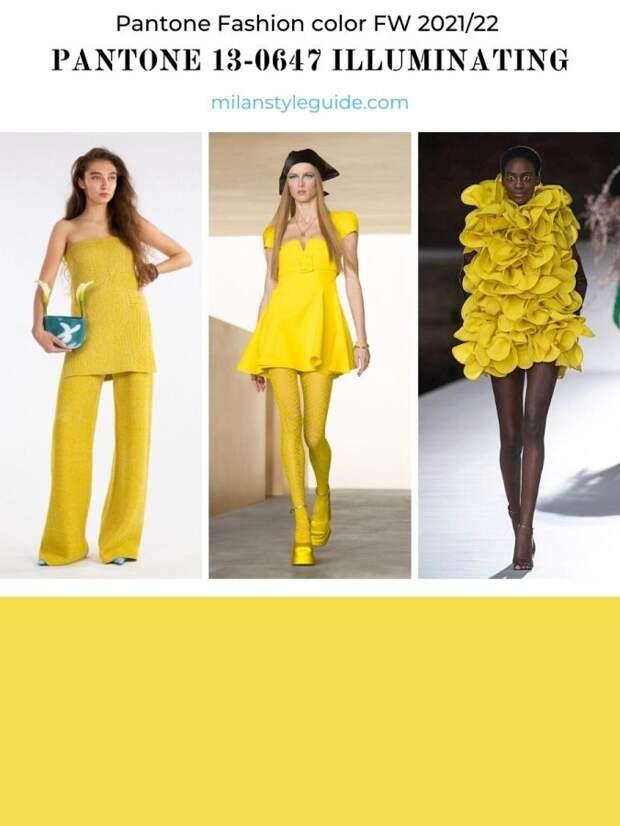 Модные цвета Pantone Осень-Зима 2021/2022 –