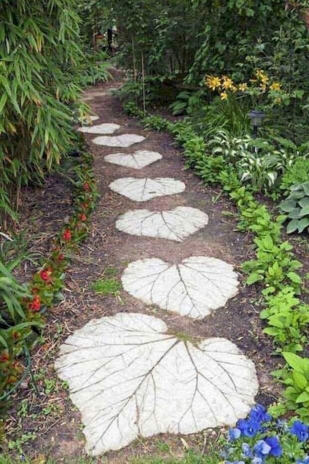 С помощью бетона и фантазии можно придумать массу оригинального. /Фото: i1.wp.com