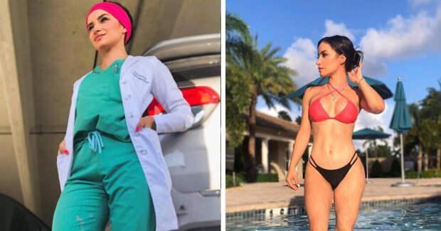 Медиков упрекнули вслишком откровенных фото итеответили глобальным флешмобом #Medbikini