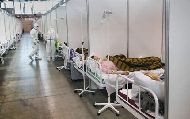 В Петербурге увеличат коечный фонд для больных COVID-19