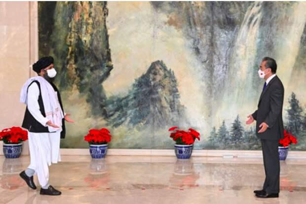 Делегация Талибана прибыла в Китай