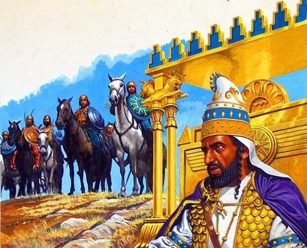 Дарий III. Картина современного художника