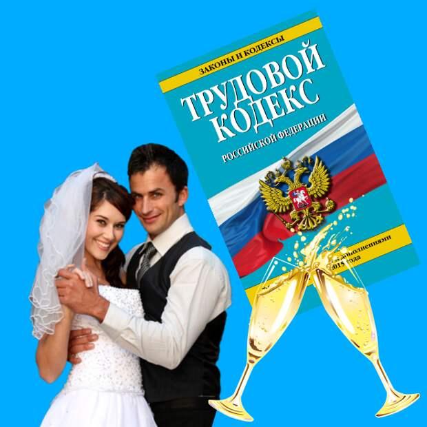 Отпуск на свадьбу по Трудовому кодексу 2021. Оплачивается или нет