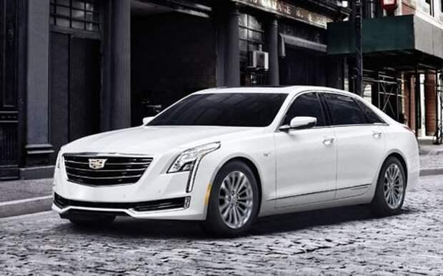 Самый высокотехнологичный Cadillac прибыл в Америку из Китая