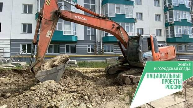 Подрядчик продолжает работы по строительству подпорных сооружений подъездной дороги к ЖК «Семейный» в Алуште