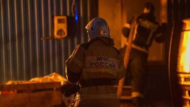 Пожарные вывели из задымленной квартиры жителя Тюмени