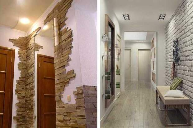 Отделка камнем внутри помещения: фото, интересные идеи для каждой комнаты (83 фото)
