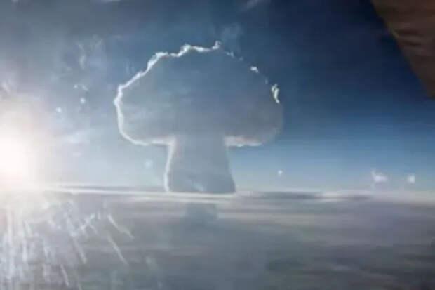 Рассекреченное видео взрыва самой мощной вмире бомбы: огненный ад