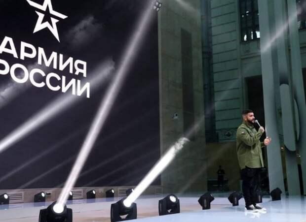 «Черная звезда», или модный показ от Тимати с Минобороны