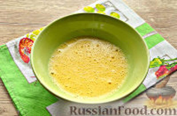 Фото приготовления рецепта: Бризоль с сосиской и сыром - шаг №6