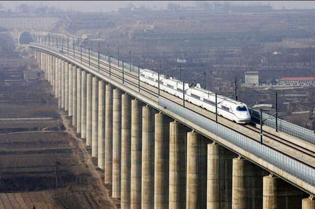 Крупнейший железнодорожный виадук в мире