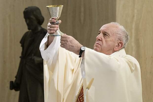 Папа Римский Франциск призвал к миру и диалогу между Израилем и Палестиной
