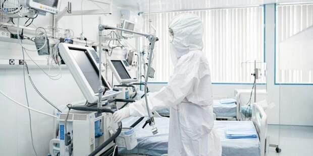 Собянин открыл построенную за месяц инфекционную больницу в ТиНАО/ Фото mos.ru
