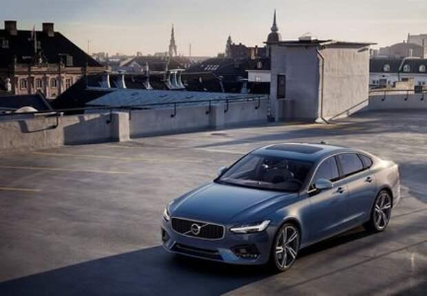 Volvo объявила цены на седан S90 R-Design