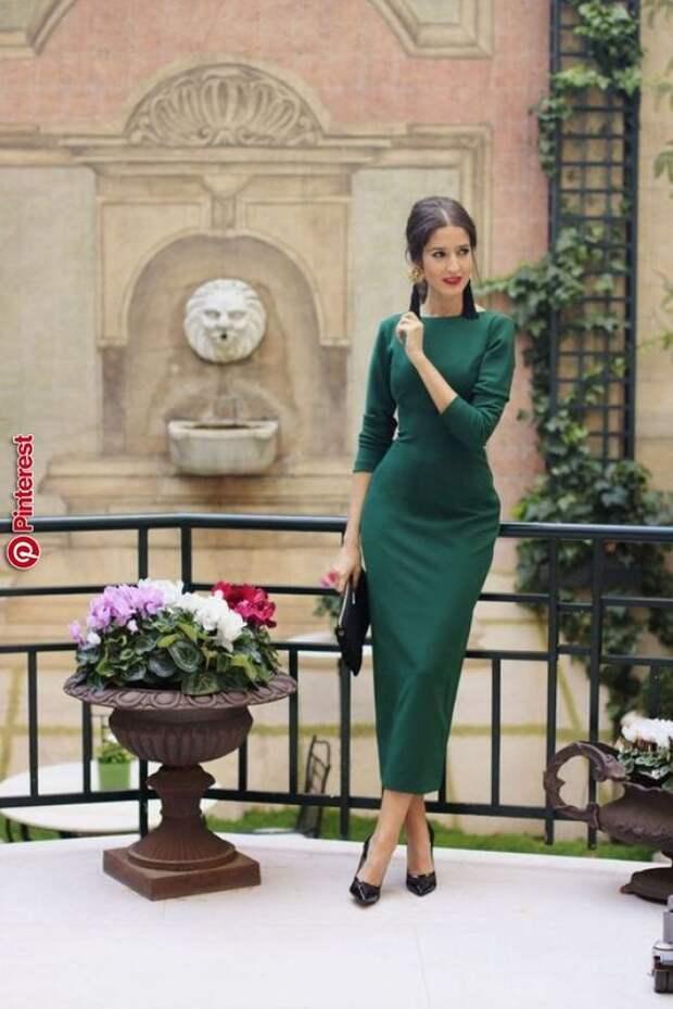 16 идей для весны: платье-футляр